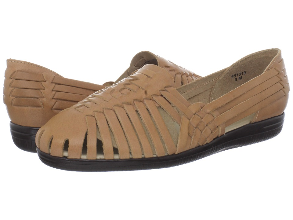 Comfortiva - Trinidad - Soft Spots (Natural Leather) Women's Slip on Shoes