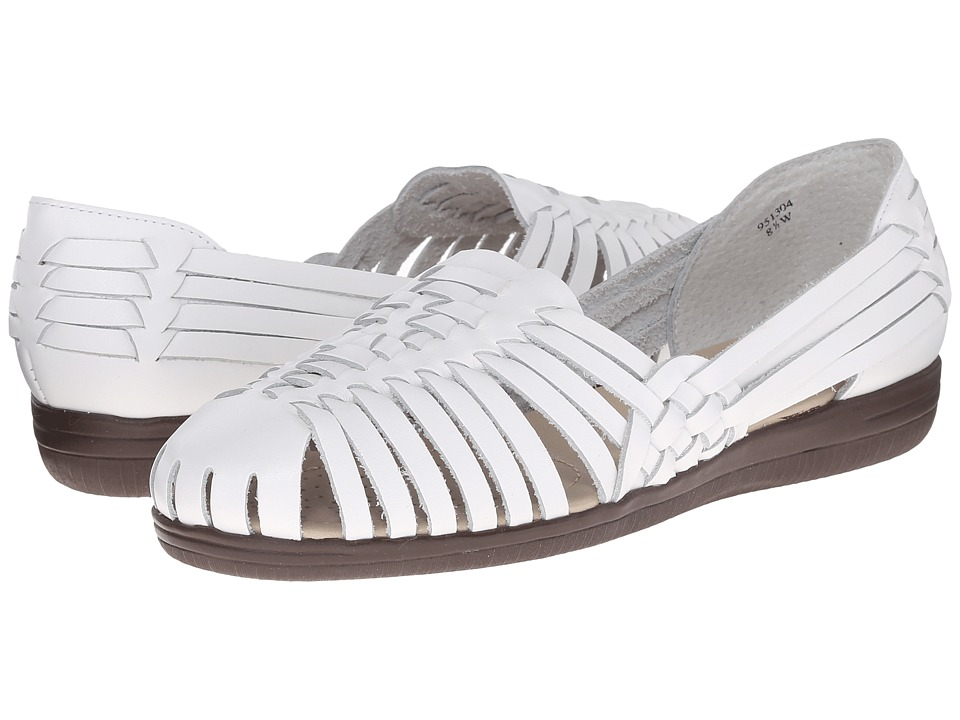 Comfortiva - Trinidad - Soft Spots (White) Women's Slip on Shoes