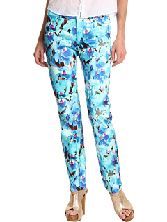 SALE! $154.99 - Save $230 on Just Cavalli Aphrodite Print Jegging (Blue) Apparel - 59.74% OFF $385.00