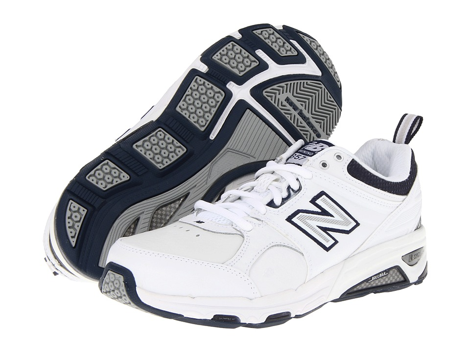 New Balance - MX857 (White) Men's Cross Training Shoes