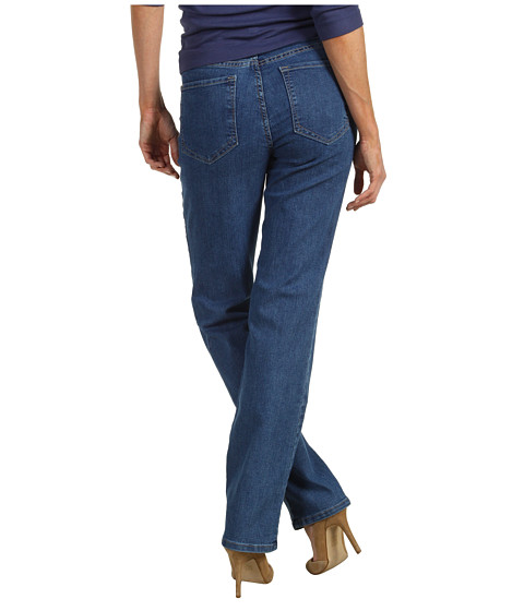 NYDJ - Marilyn Straight in Monrovia Wash (Monrovia Wash) Women