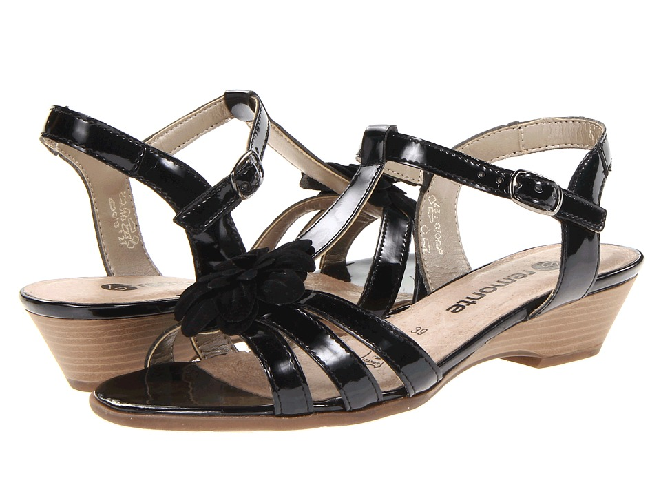 Rieker - D4256 Doreen 56 (Black) Women's Sandals