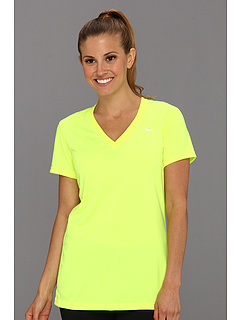 SALE! $16.99 - Save $8 on Nike Regular Legend Short Sleeve V Neck (Volt White) Apparel - 32.04% OFF $25.00