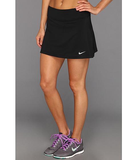 Nike - Straight Knit Skort (Black/Black/Matte Silver) Women