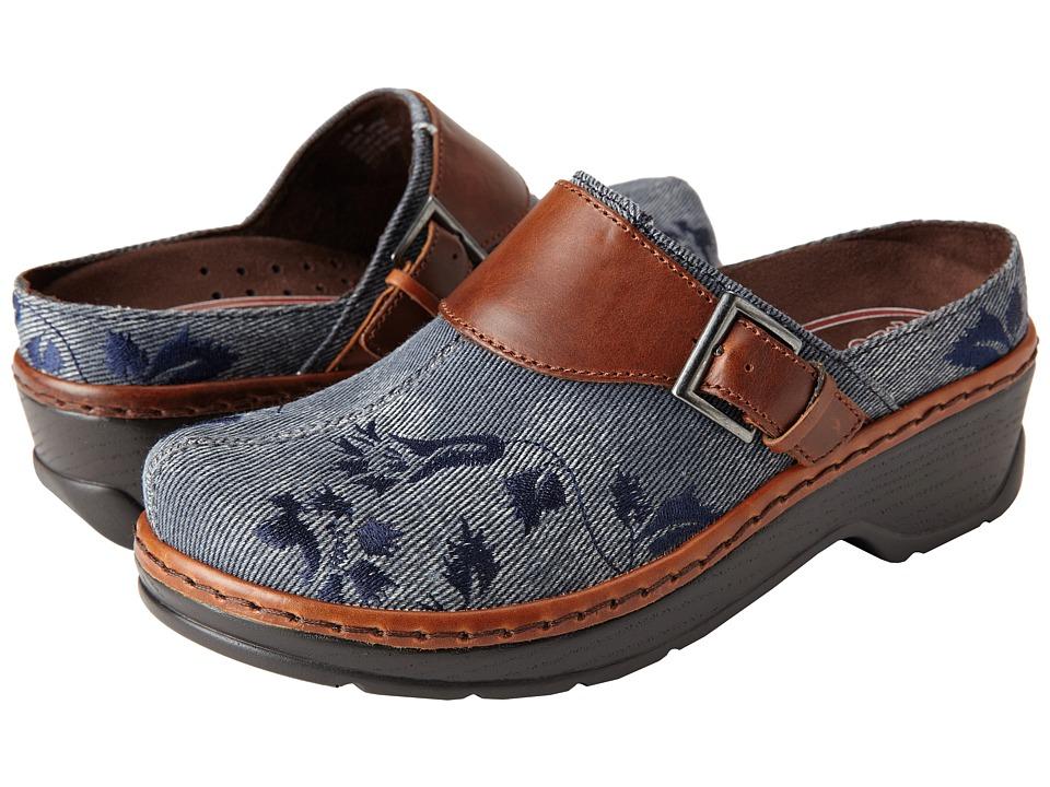 Klogs Footwear - Austin (Denim Tapestry) Women's Clog Shoes