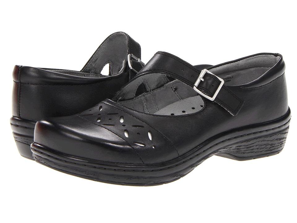 Klogs Footwear - Madrid (Black w/ Silver) Women's Maryjane Shoes
