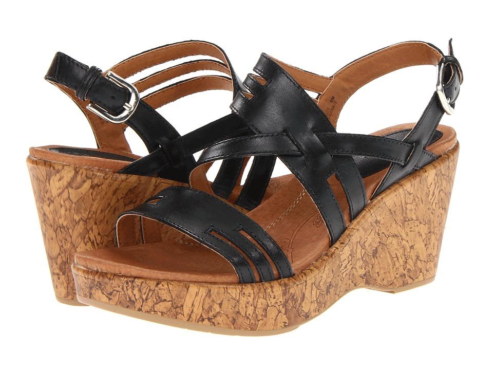 Klogs Footwear - Frankie (Black) Women's Wedge Shoes