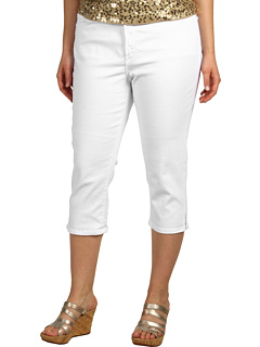 SALE! $23.5 - Save $70 on NYDJ Plus Size Plus Size Nanette Crop (Optic White) Apparel - 75.00% OFF $94.00