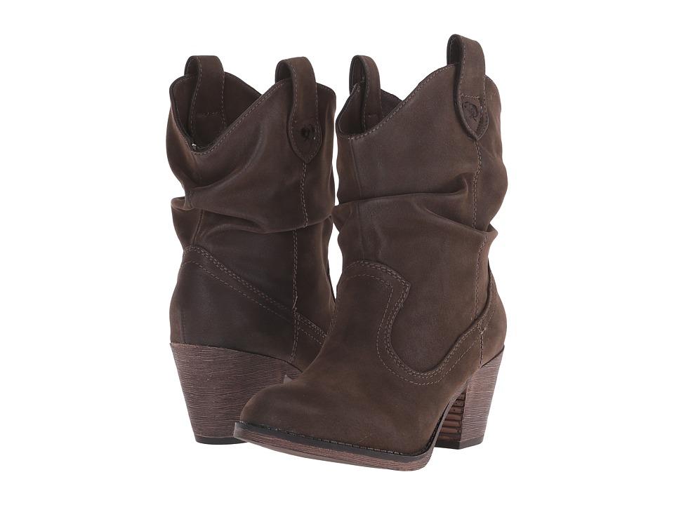 Rocket Dog Sheriff (Brown Vintage Worn) Cowboy Boots