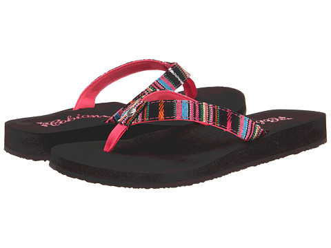 Cobian - Fiesta Skinny Bounce (Black) Women's Sandals