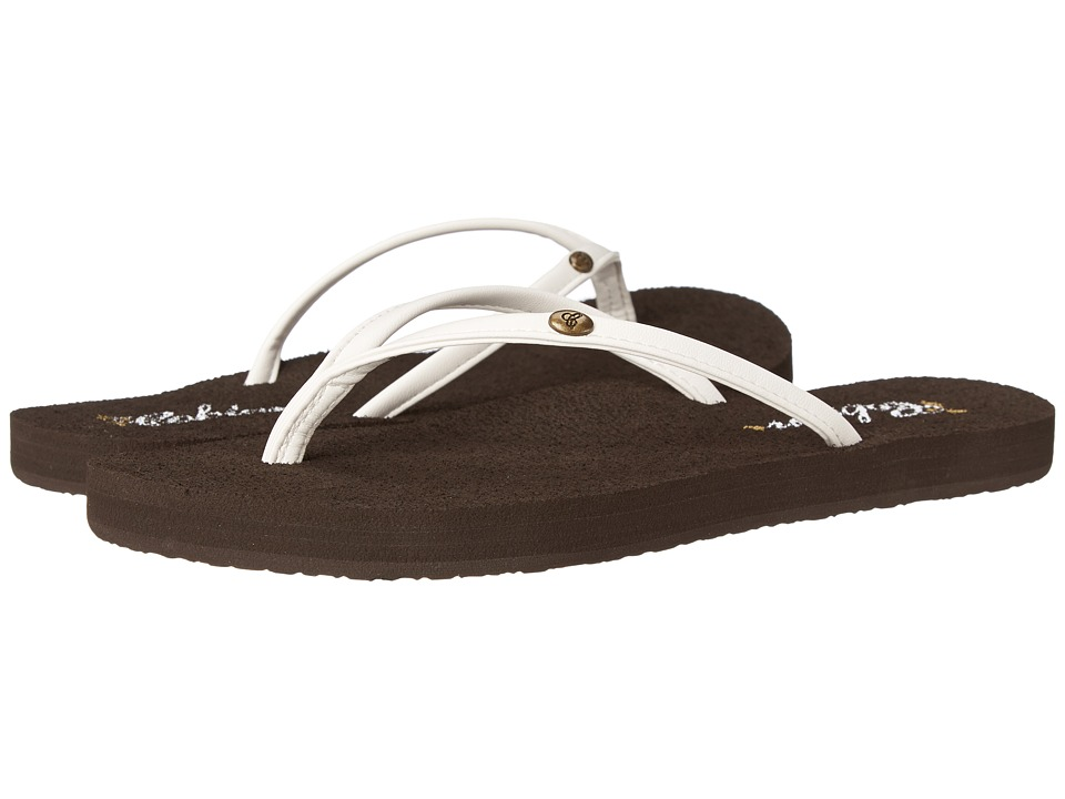 Cobian - Nias Bounce (White) Women's Sandals