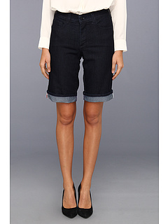 SALE! $36.99 - Save $31 on NYDJ Nicolette Rolled Cuff Short in Dark Enzyme (Dark Enzyme) Apparel - 45.60% OFF $68.00