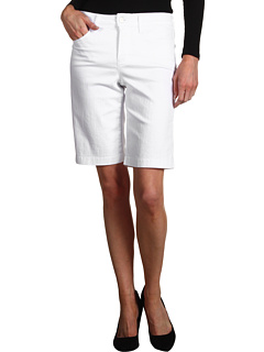 SALE! $21.99 - Save $46 on NYDJ Helen Short Colored Denim (Optic White) Apparel - 67.66% OFF $68.00