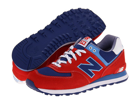 New Balance Classics - M574 (Yacht Club Red) Men