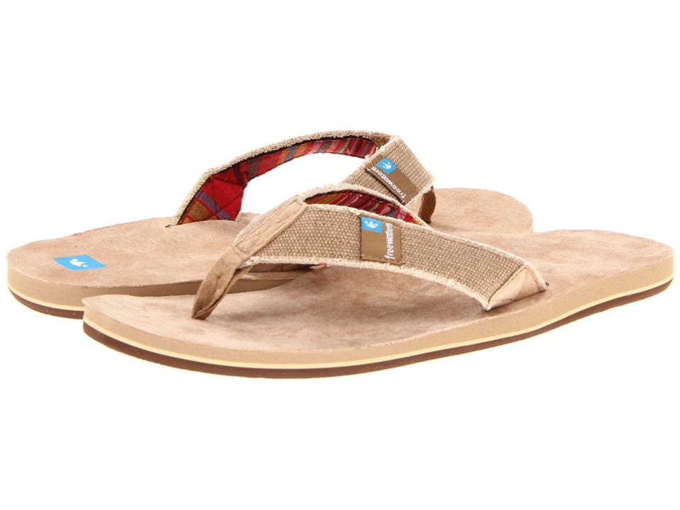 Freewaters - Palapa (Tan) Men's Toe Open Shoes