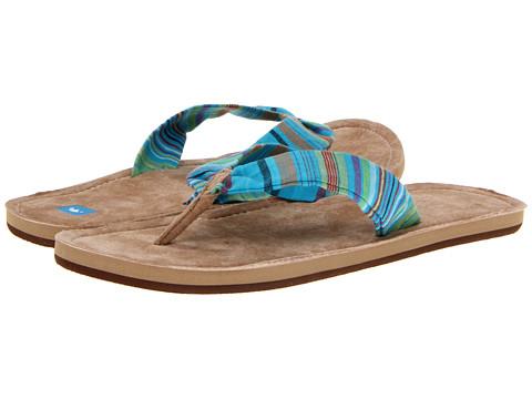 Freewaters - Kitz (Blue/Tan) Women's Sandals