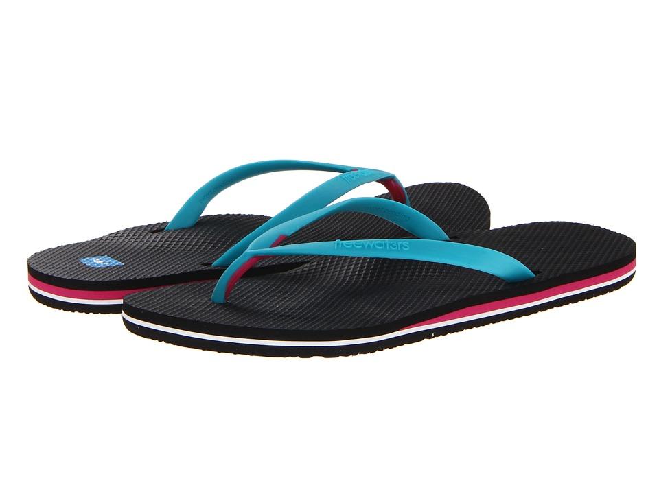 Freewaters - Capetown (Black/Blue) Women's Sandals