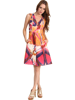 SALE! $179.99 - Save $218 on Rachel Roy Printed Dress (Vibrant Orchid Multi) Apparel - 54.78% OFF $398.00