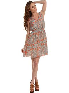 SALE! $119.99 - Save $178 on Rachel Roy Cinched Dress (Sunset Multi) Apparel - 59.73% OFF $298.00