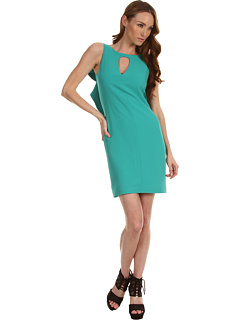SALE! $201.99 - Save $166 on Rachel Roy Drape Back Shift Dress (Lagoon) Apparel - 45.11% OFF $368.00