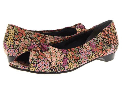 Rose Petals - Hardrock-2 (Black Print Floral) Women