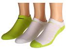 Cotton Cushion No Show Socks w/ Moisture Management 3-Pair Pack