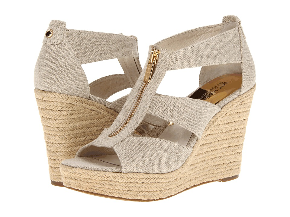 MICHAEL Michael Kors - Damita Wedge (Natural Hemp) Women's Wedge Shoes