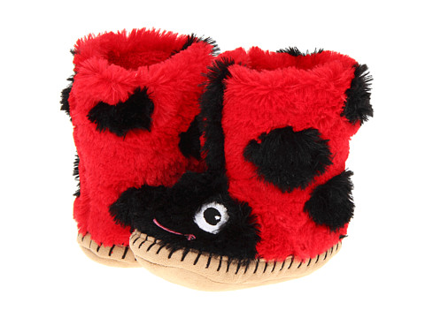 Hatley Kids - Ladybug Slippers (Toddler/Little Kid) (Red) Girls Shoes