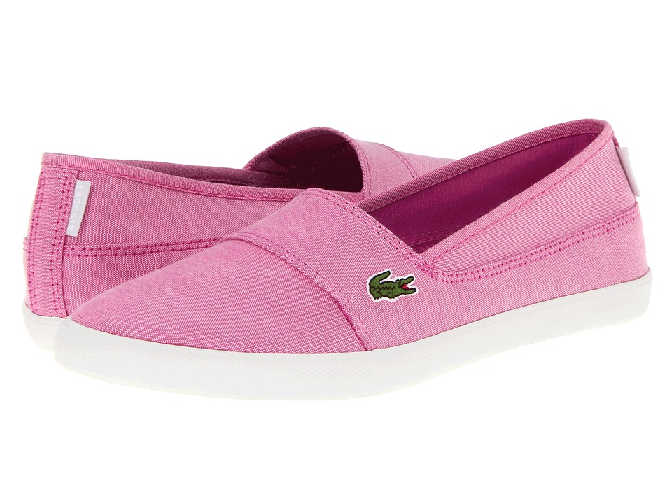 Lacoste - Marice CAM (Light Pink/Light Pink) Women's Slip on Shoes