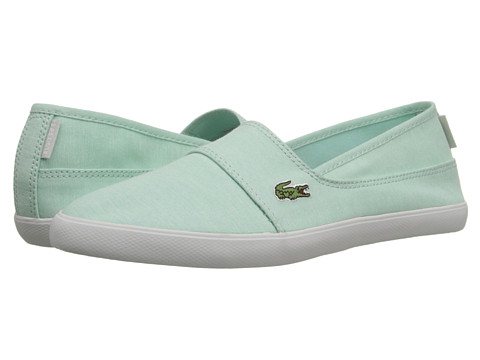 Lacoste - Marice CAM (Light Turquoise/Turquoise) Women's Slip on Shoes