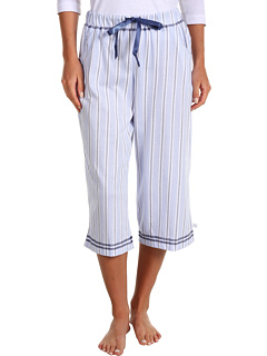 SALE! $14.99 - Save $29 on Karen Neuburger Luca Crop Pajama Pant (Stripe Navy) Apparel - 65.93% OFF $44.00