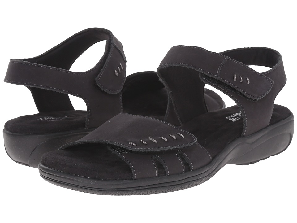 Walking Cradles - Chet (Black Nubuck) Women