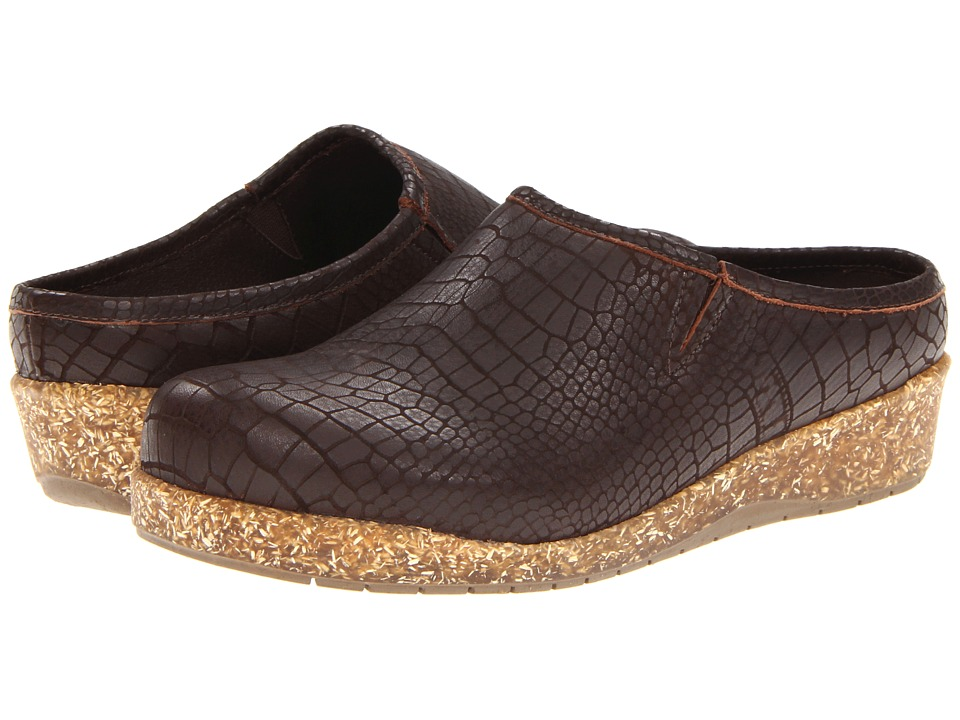 Walking Cradles - Alex (Brown Matte Print Croco) Women