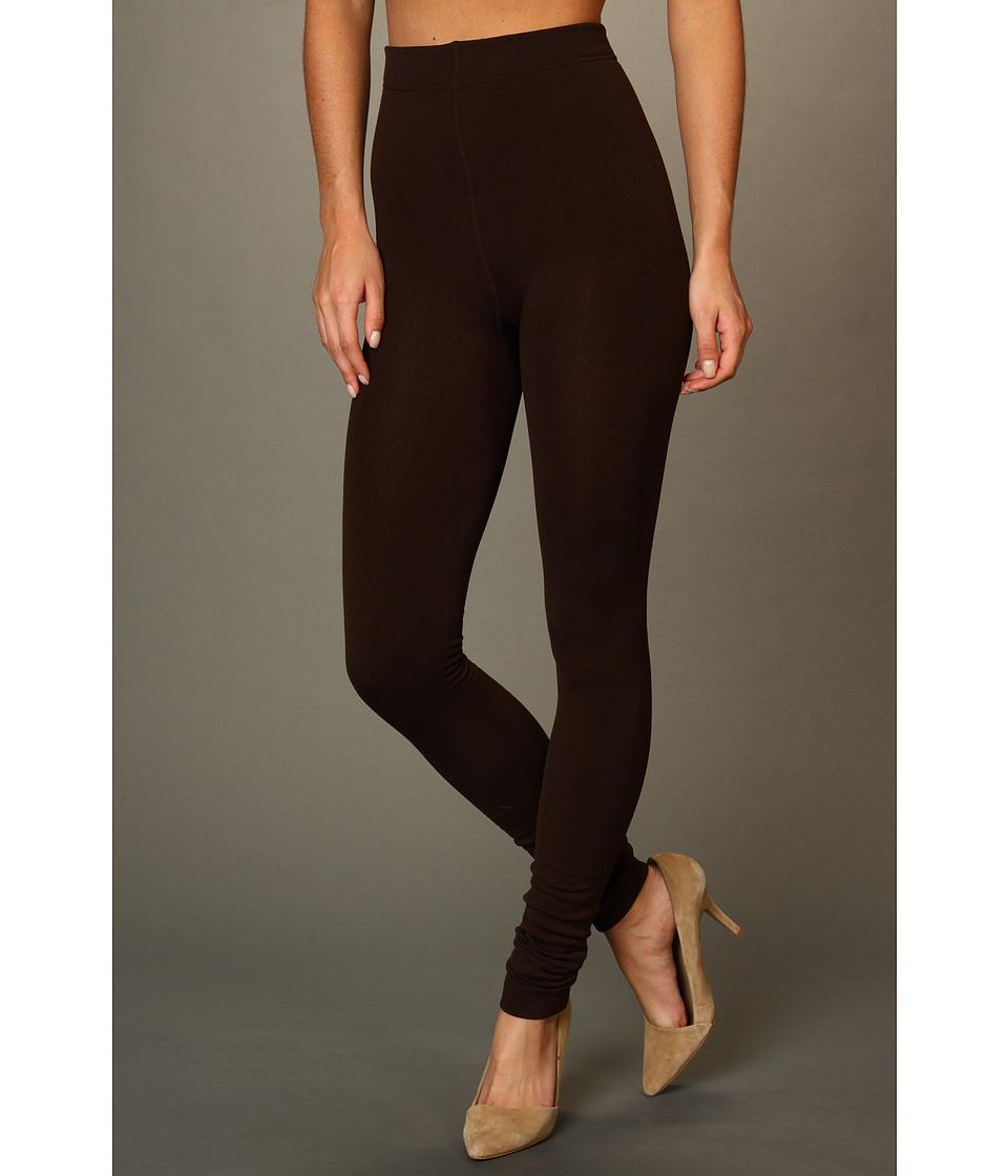 Anne Klein - Fleece-Lined Legging (Chocolate) Women's Clothing