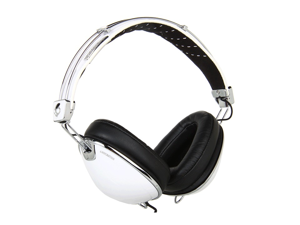 Skullcandy - Roc Nation Aviator (2011) (Aviator White w/Mic3) Headphones