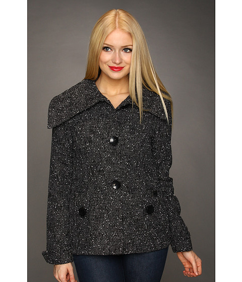 Fox - Harlem Jacket (Black) Women's Coat