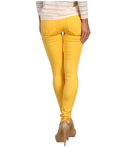 Genetic Denim - The Shane Faux-Front Cigarette in Mango (Mango) Women's Jeans