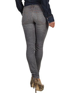 SALE! $99.99 - Save $83 on Genetic Denim The Shya Cigarette in Static (Static) Apparel - 45.36% OFF $183.00
