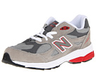 New Balance Kids KJ990V3 (Little Kid) (Grey/Red)