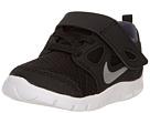 Nike Kids Free Run 5.0 (TDV) (Infant/Toddler) (Black/Dark Grey/White/Metallic Silver)
