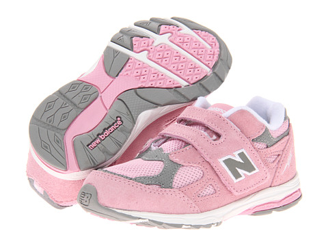 New Balance Kids - KV990V3 (Infant/Toddler) (Pink/Grey) Girls Shoes