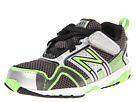 New Balance Kids KV695 (Infant/Toddler) (Silver/Green)