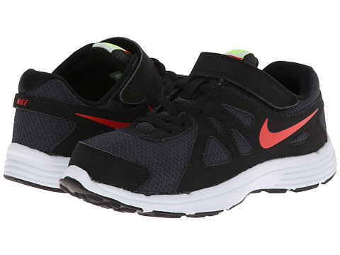 Nike Kids - Revolution 2 (Little Kid) (Anthracite/Black/Volt/Pimento) Boys Shoes