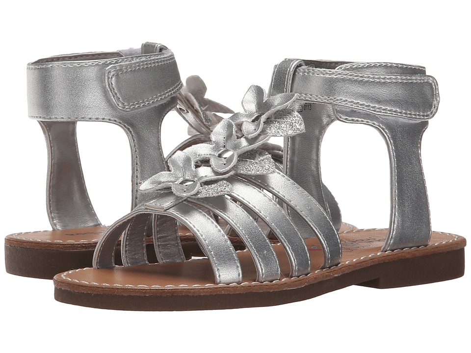 Rachel Kids - Charleston (Toddler/Little Kid) (Silver Metallic) Girls Shoes