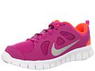 Nike Kids Free Run 5.0 (Little Kid) (Fusion Pink/Total Crimson/Metallic Silver)