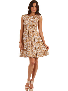 SALE! $174.99 - Save $213 on Kate Spade New York Natural Tromp L`oeil Mariella Dress (Natural Trompe L`Oeil) Apparel - 54.90% OFF $388.00
