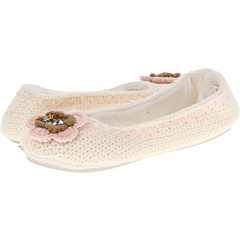 SALE! $16.99 - Save $13 on Steve Madden Knit Indoor Ballet Slipper (Ivory) Footwear - 43.37% OFF $30.00