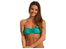 Roxy - Naturally Beautiful Bandeau Top (Dynasty Green) - Apparel