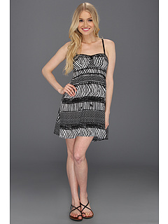SALE! $26.99 - Save $23 on Roxy Buried Shell Dress (True Black Print) Apparel - 45.47% OFF $49.50