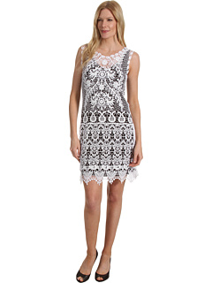 SALE! $41.99 - Save $96 on Karen Kane Crochet Dress (White) Apparel - 69.57% OFF $138.00